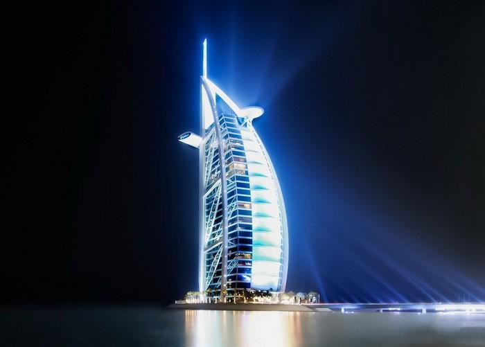 Burj Al Arab – самый известный современный парус