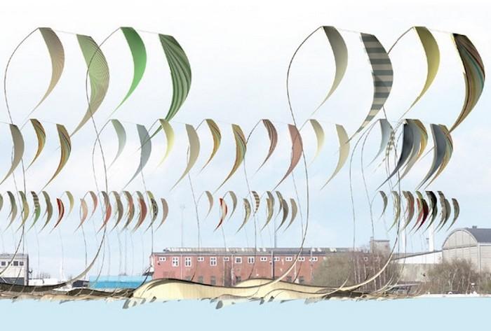 Oscillating Platforms – парусная электростанция в Копенгагене