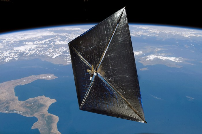 Sunjammer – солнечный парус от NASA