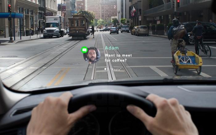 Navdy – проекционная система hands-free для автомобилистов
