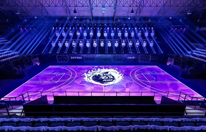 House of Mamba – первое в мире интерактивное поле для баскетбола