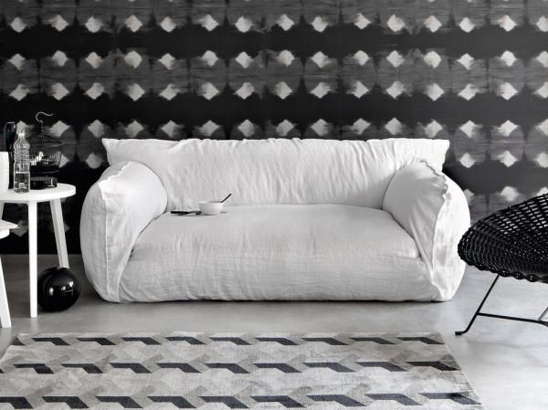 Модель из новой серии мягкой мебели от Gervasoni.