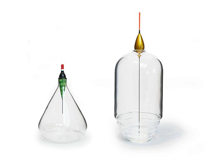 Оригинальные бутылки для увлеченных рыбалкой.
