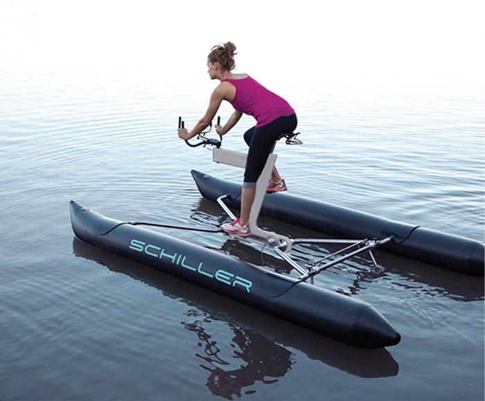 X1 Water Bike – самый необычный в мире водный велосипед