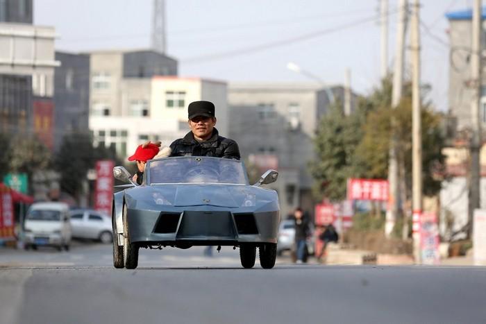 Old Guo – самодельный автомобиль за 500 долларов