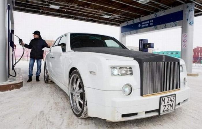 Самодельный Rolls Royce Phantom из Казахстана