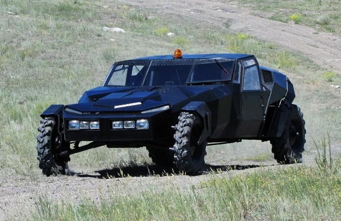Черный ворон – самодельный внедорожник из Казахстана