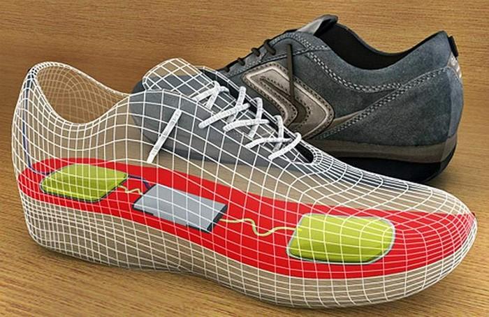 InShoe Wonder – обувь для зарядки мобильных телефонов