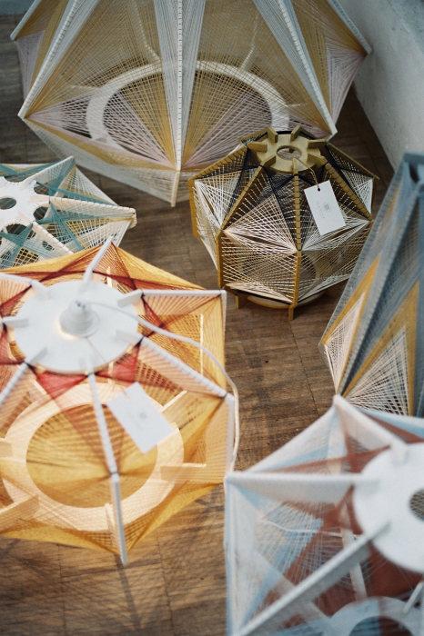 Элегантные лампы ручной работы от Джули Лэнсом (Julie Lansom).