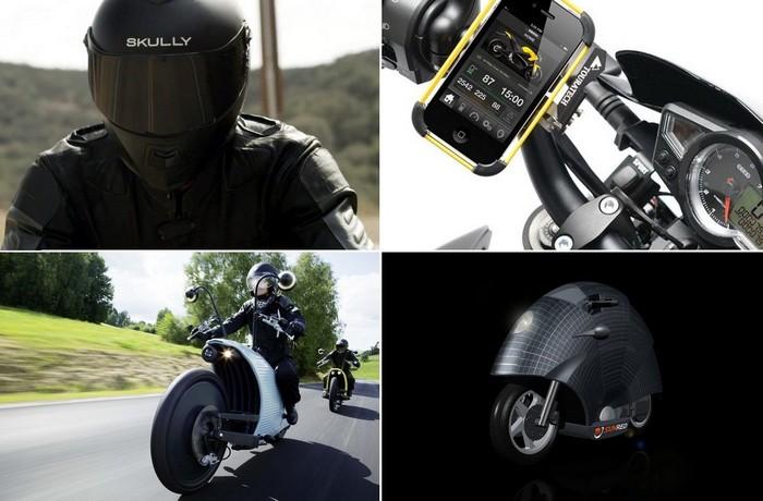 Самые необычные современные технологии для мотоциклистов и мотоциклов