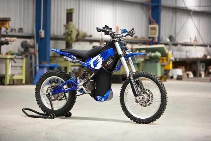 O2 Pursuit – мотоцикл на сжатом воздухе