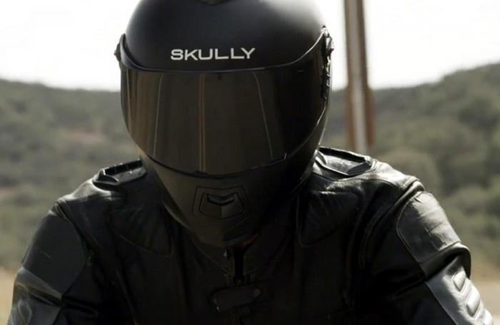 Skully AR-1 – первый в мире умный мотошлем
