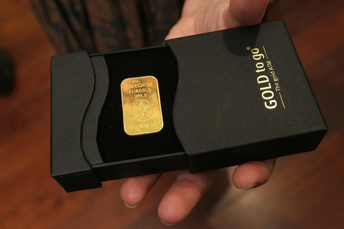 Gold to go – торговый автомат по продаже золотых слитков