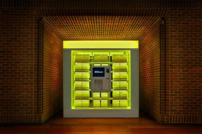 Morgans Semi-automatic – автомат по продаже модных аксессуаров
