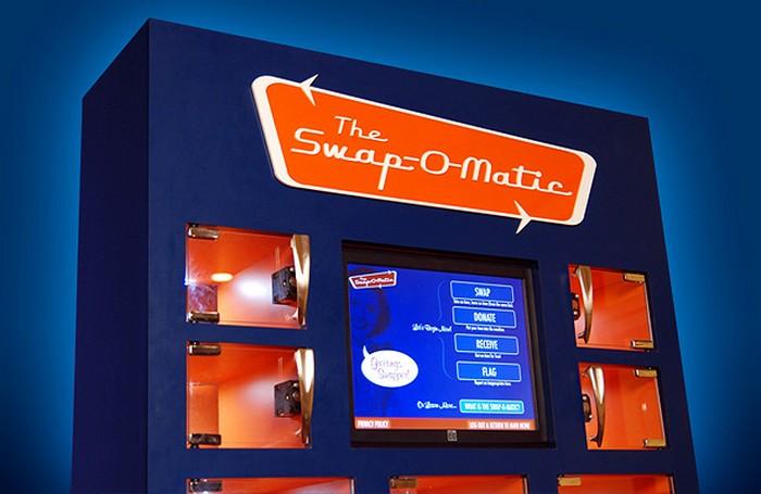Swap-O-Matic – автомат для обмена вещами