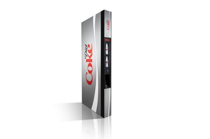 Slender Vender – стройный автомат для продажи диетической Колы