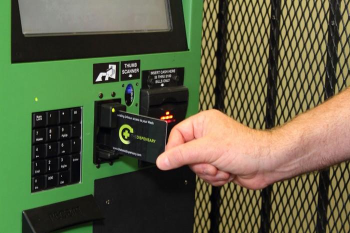Autospense – автомат для продажи медицинской марихуаны