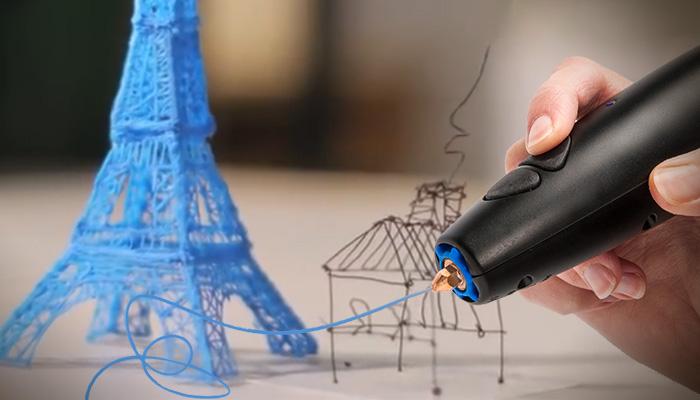 3D-принтер: ручка, которой можно писать в воздухе.