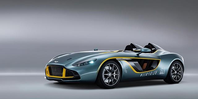 Aston Martin CC100 Speedster, созданный в честь 100-летнего юбилея компании Aston Martin.