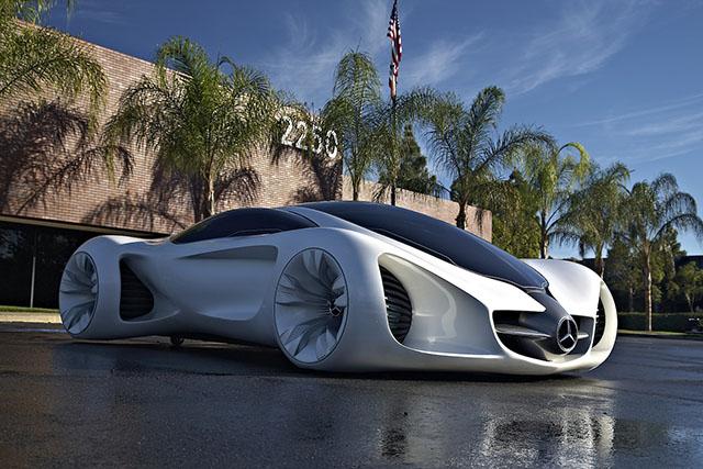 Mercedes-Benz BIOME - транспорт будущего.