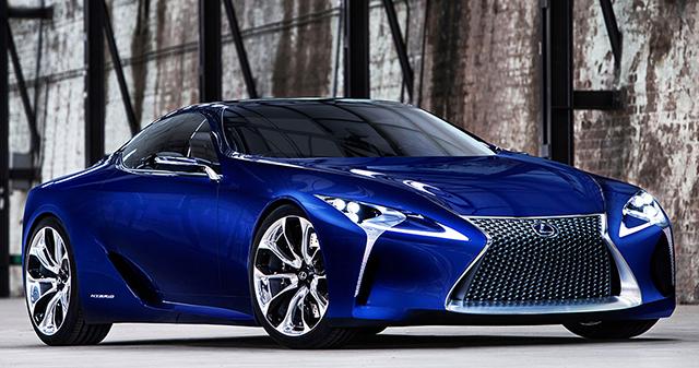 Великолепная модель Lexus LF-LC.