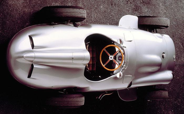 1954-1955 Mercedes-Benz W196 R Silver Arrow