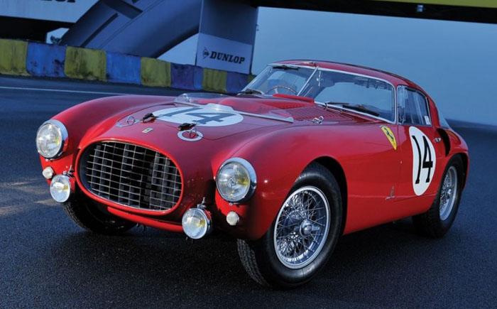 1953 год Ferrari 340