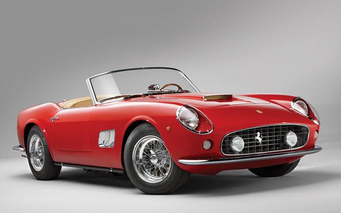 1961 год Ferrari 250 Spyder