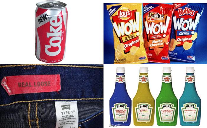 10 неудачных продуктов от известных компаний