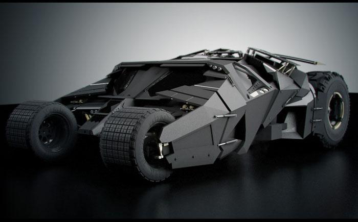 Автомобиль «Акробат» - «Бэтмен: начало»