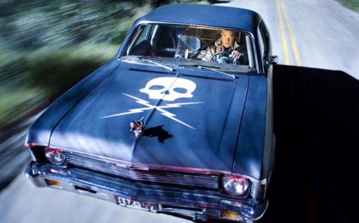 Автомобиль каскадера Майка - «Доказательство смерти»