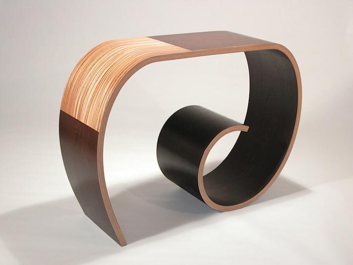 Деревянная мебель от Artisan Kino Guerin и Elyse.