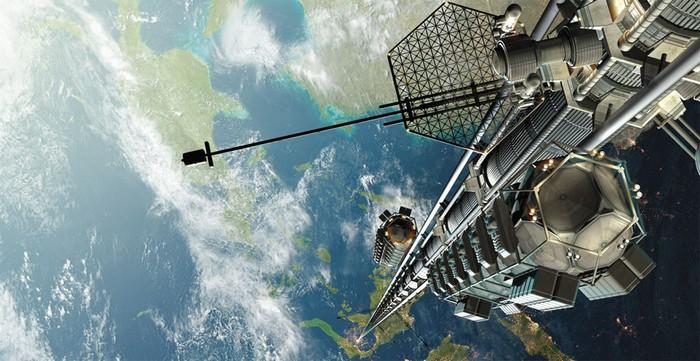 Орбитальный лифт от японской корпорации Obayashi