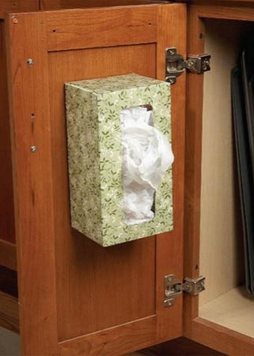Емкость для хранения пакетов.
