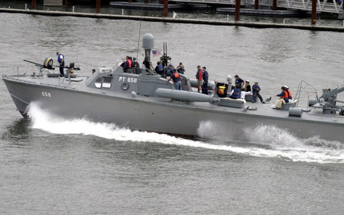 Восстановленный патрульный торпедный катер