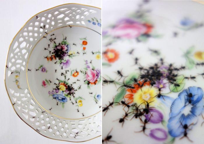Эффект немытой посуды от Эвелин Баклоу.