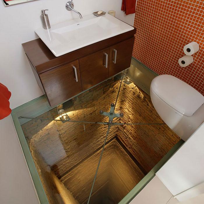 Ванная комната для экстремалов.