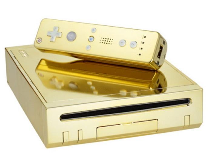 Royal Wii – золотая консоль Nintendo Wii для британской королевской семьи