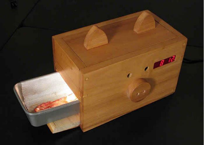 Маленькая печка для бекона.