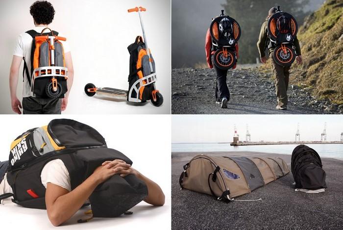 Самые необычные в мире рюкзаки с секретом