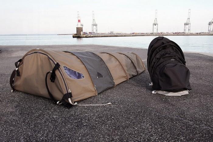 Urban Rough Sleepers – рюкзак со встроенной палаткой