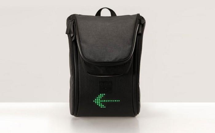 Seil Bag – безопасный рюкзак для велосипедистов