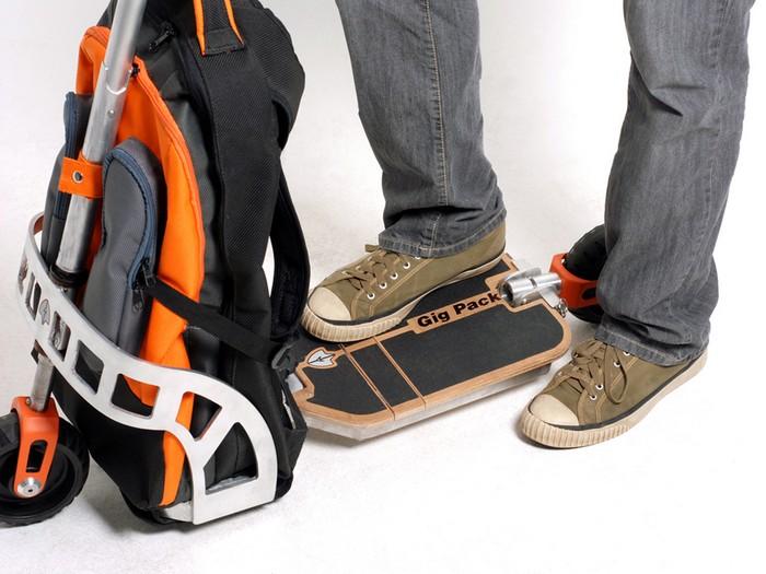 Gig Pack – рюкзак с самокатом