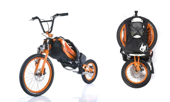Bergmönch – рюкзак с велосипедом