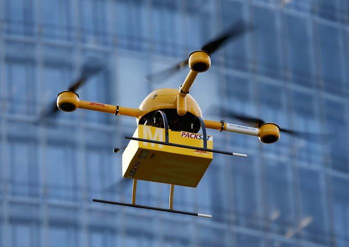 Беспилотный дрон от DHL