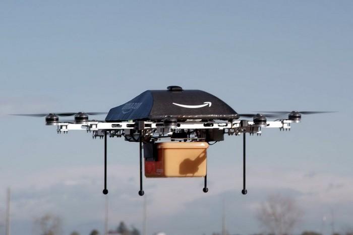 Беспилотный дрон от Amazon
