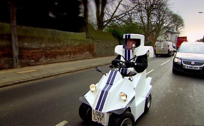 Видео-тест: самый маленький автомобиль в мире P45