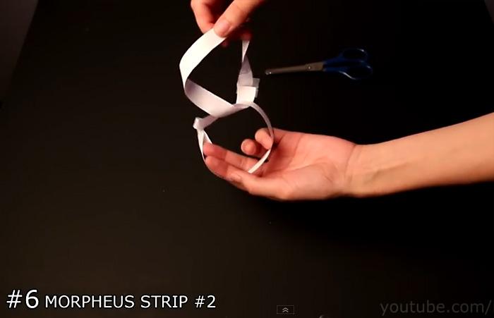 Видео-инструкция: как сделать ленту Мебиуса из бумаги