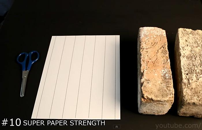Видео-инструкция: как сделать 10 потрясающих трюков с обычным листом бумаги