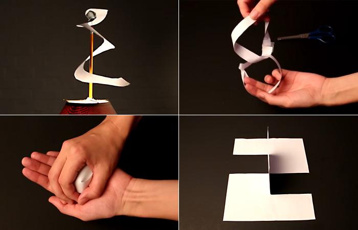 10 впечатляющих трюков с обычным листом бумаги